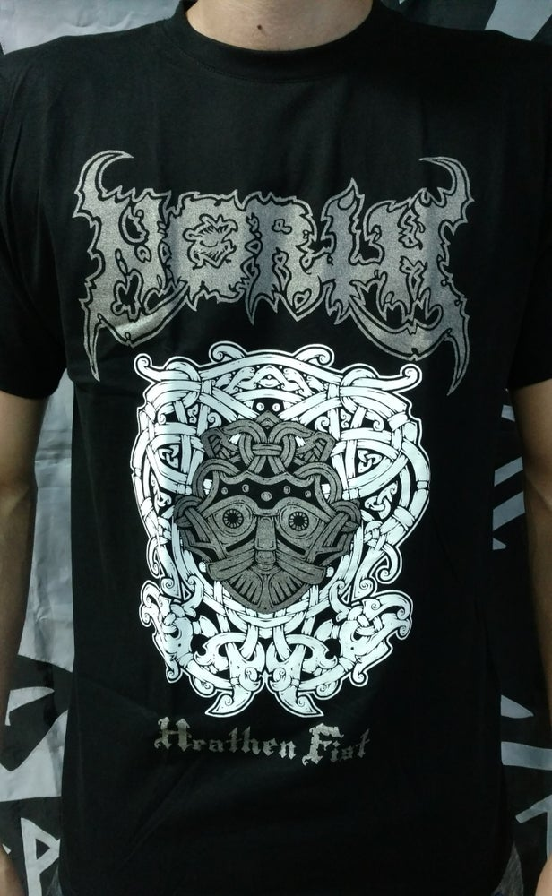 "Image of NORTH ""Heathen Fist"" T-SHIRT"