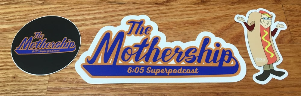 Image of Mothership Sticker Set