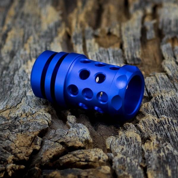 Image of Barrel Muzzle Brake Bead - Satin Blue