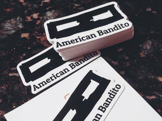 Image of American Bandito Stickers