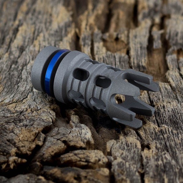 Image of Reaper Muzzle Brake Bead - Thin Blue Line