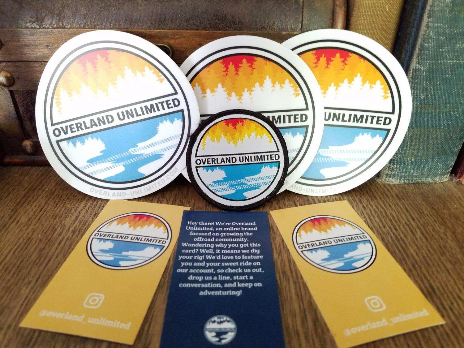 Image of 1 Patch & 3 Stickers Combo Pack!