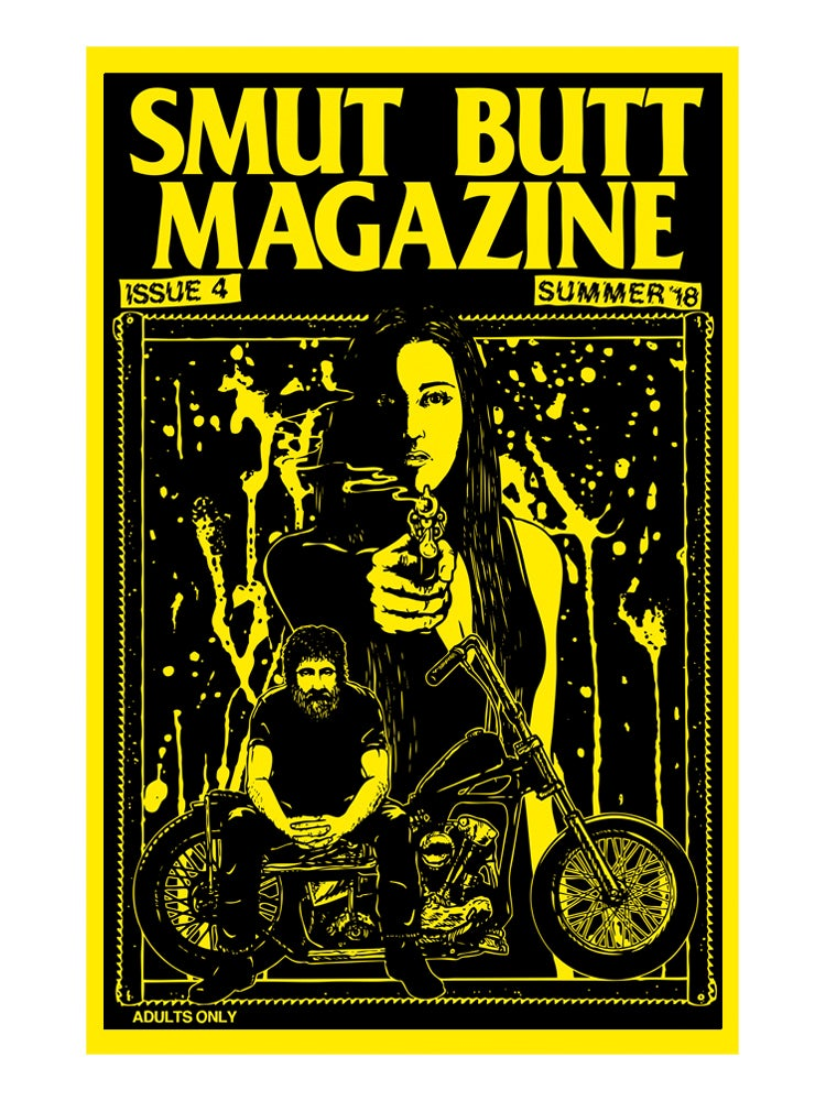 Image of SMUT BUTT MAGAZINE ISSUE 4 DIGITAL ONLY