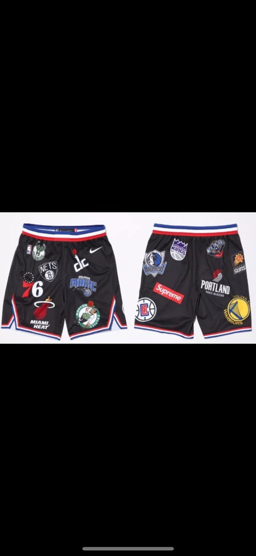 Image of Supreme Nike /NBA team shorts
