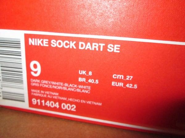 "Sock Dart SE ""Dark Grey"" - FAMPRICE.COM by 23PENNY"