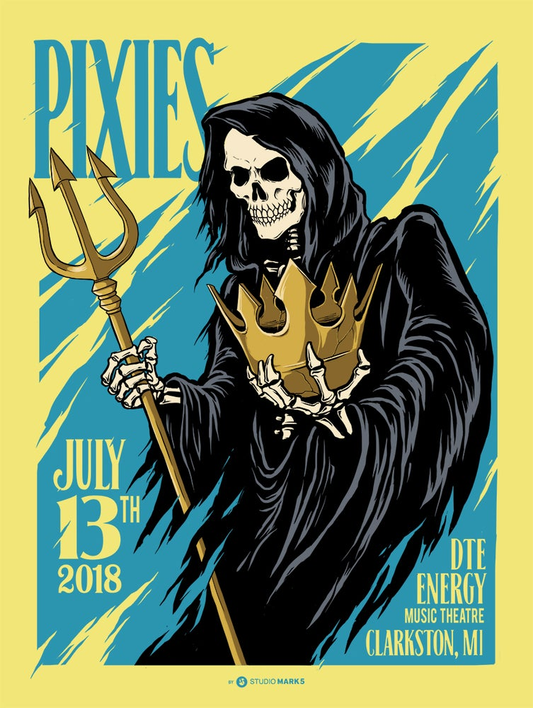 Image of Pixies Clarkston, MI Poster