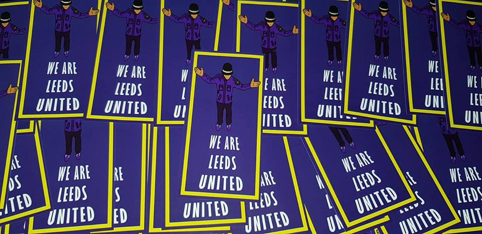 We are Leeds United Football/Ultras/Casuals/Hooligans 10x5cm Stickers Pack of 25