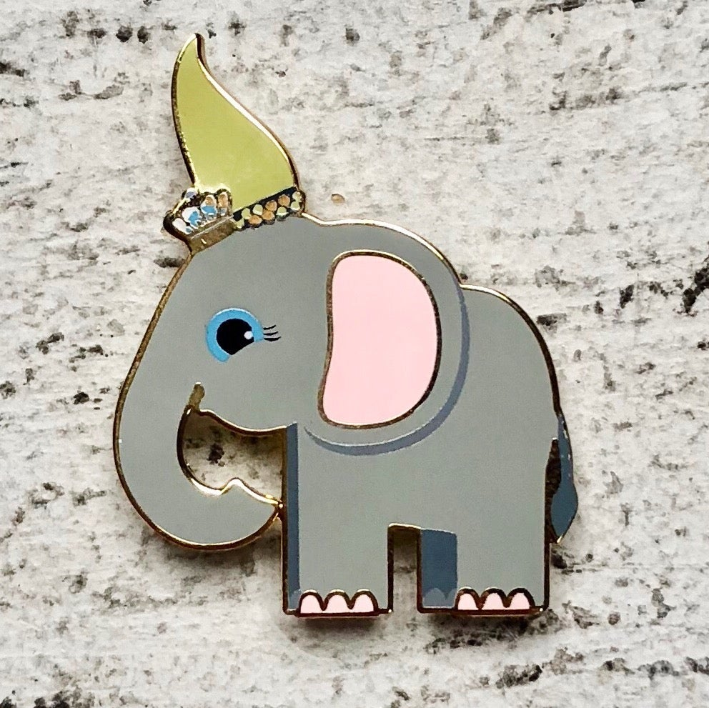 Image of Special Edition: Elephant Enamel Pin
