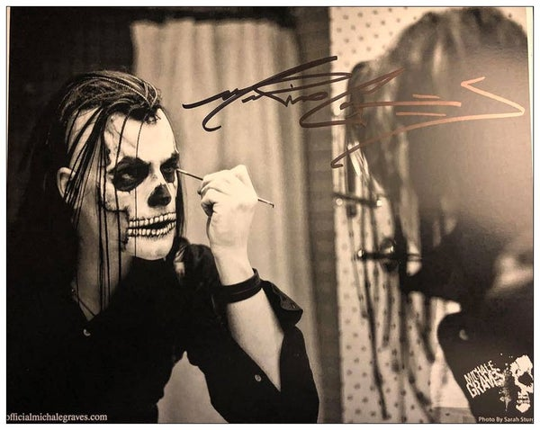 Image of MAKING THE MONSTER 8X10 AUTOGRAPHED