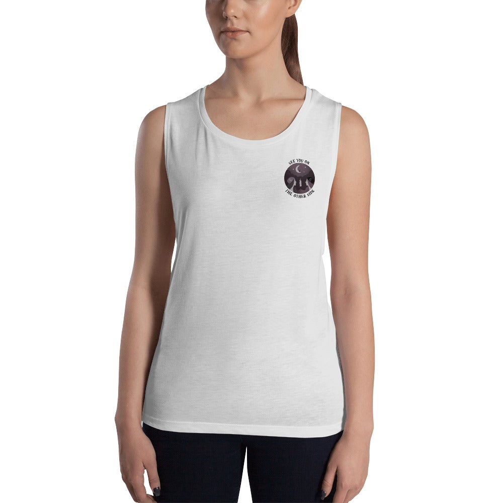 Image of SEE YOU ON THE OTHER SIDE - WOMEN'S MUSCLE TANK