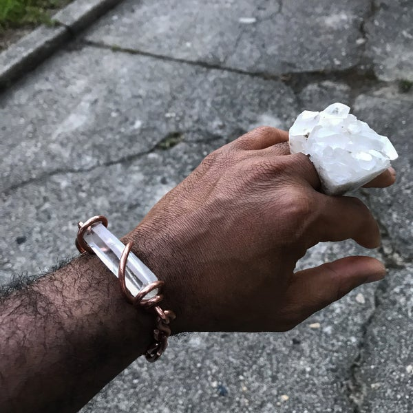 Image of Quartz Cluster Rings