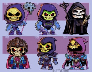 Image of Evolution of Skeletor