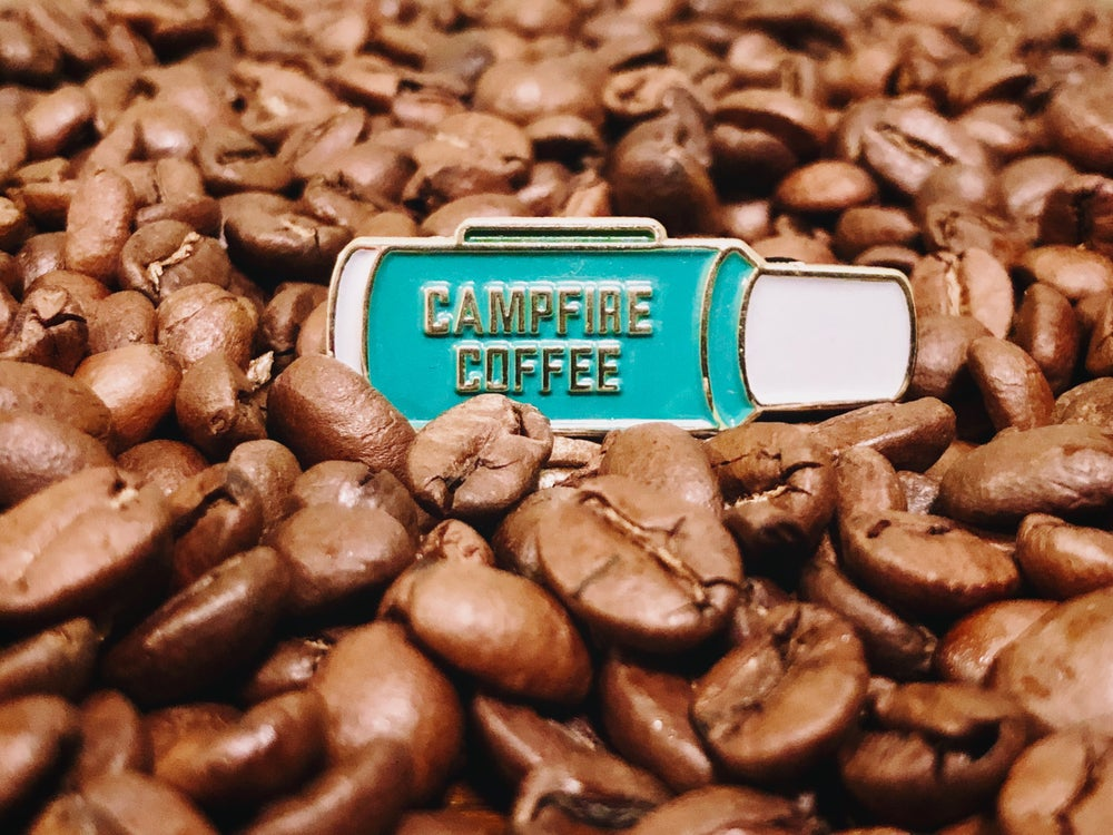 Image of Campfire Coffee pin