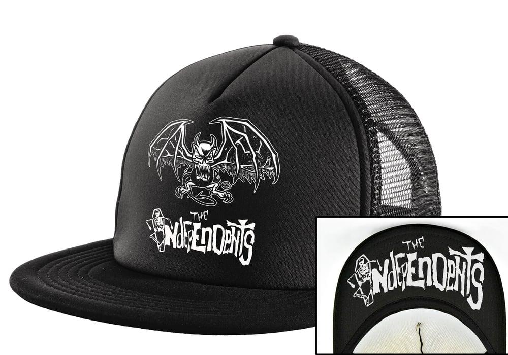 Image of The Independents Gargoyle- Trucker Hat Black