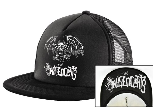 Image of The Independents Gargoyle- Trucker Hat Black