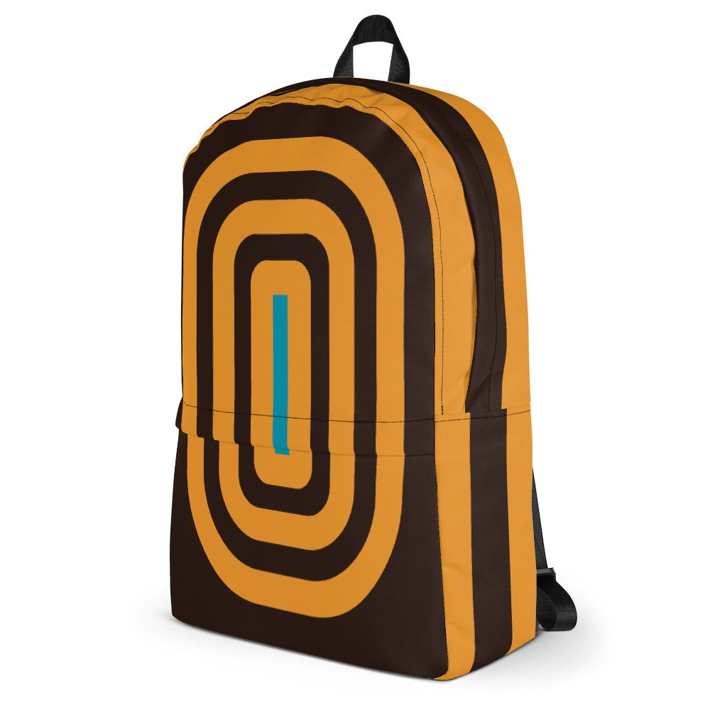 Image of Mesmerized Urban Commuter Backpack – Brown