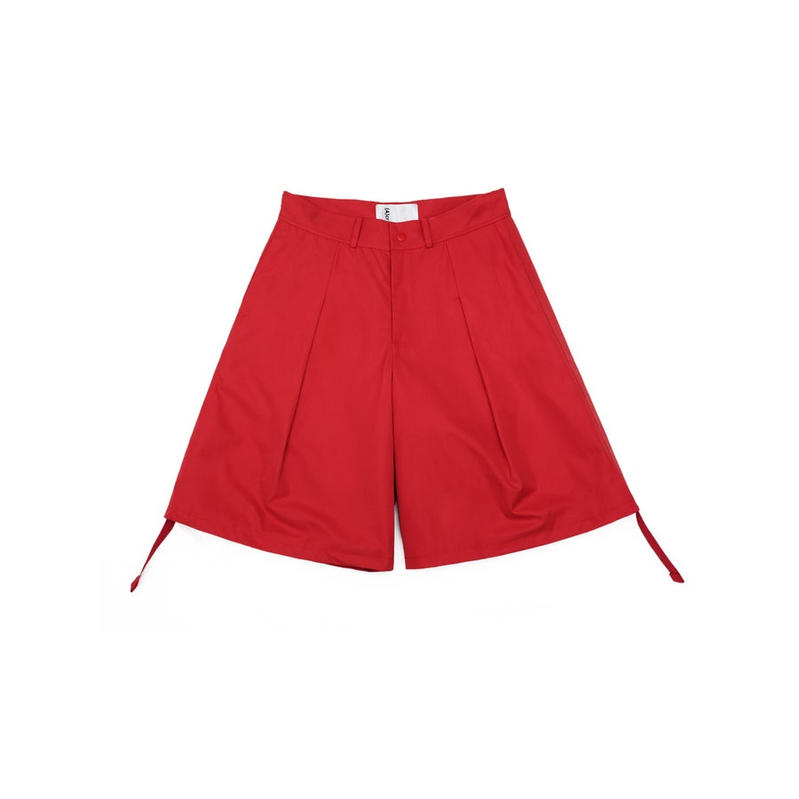 Image of (A)crypsis 2018A/W 'Souls of Mischief' BIG SHORTS RED
