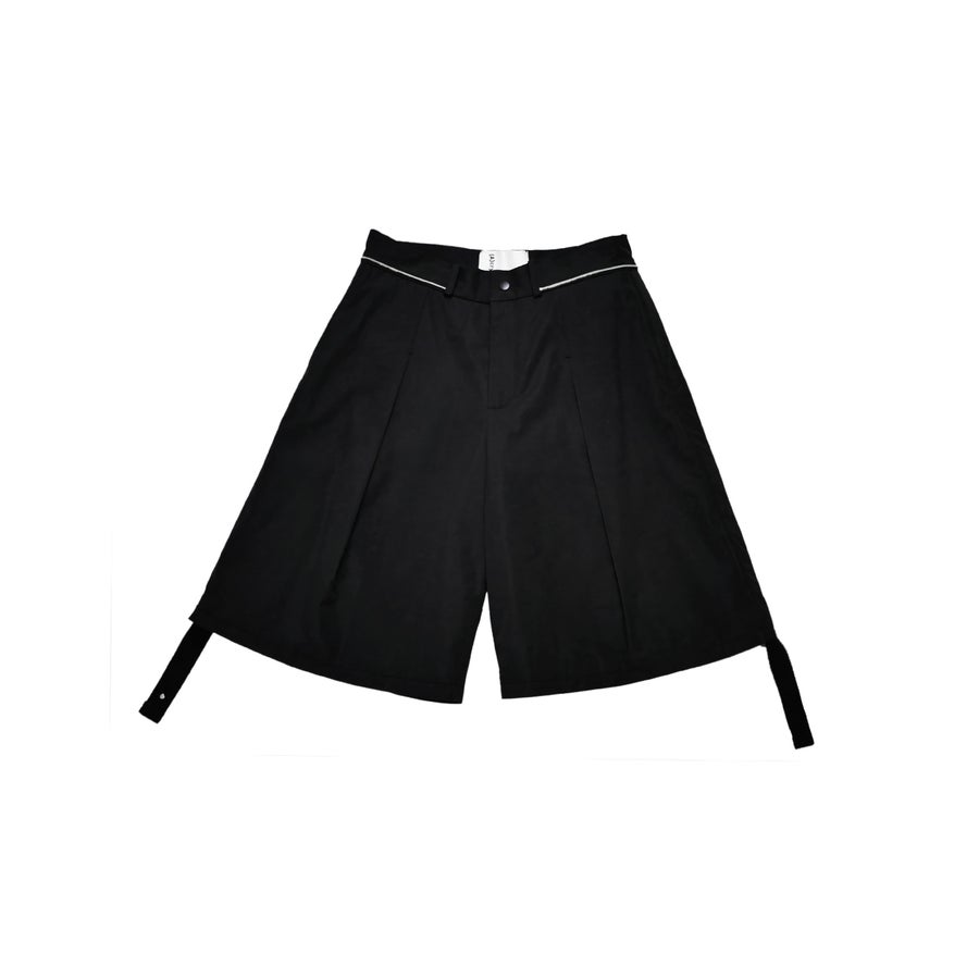 Image of (A)crypsis 2018A/W 'Souls of Mischief' BIG SHORTS BLACK