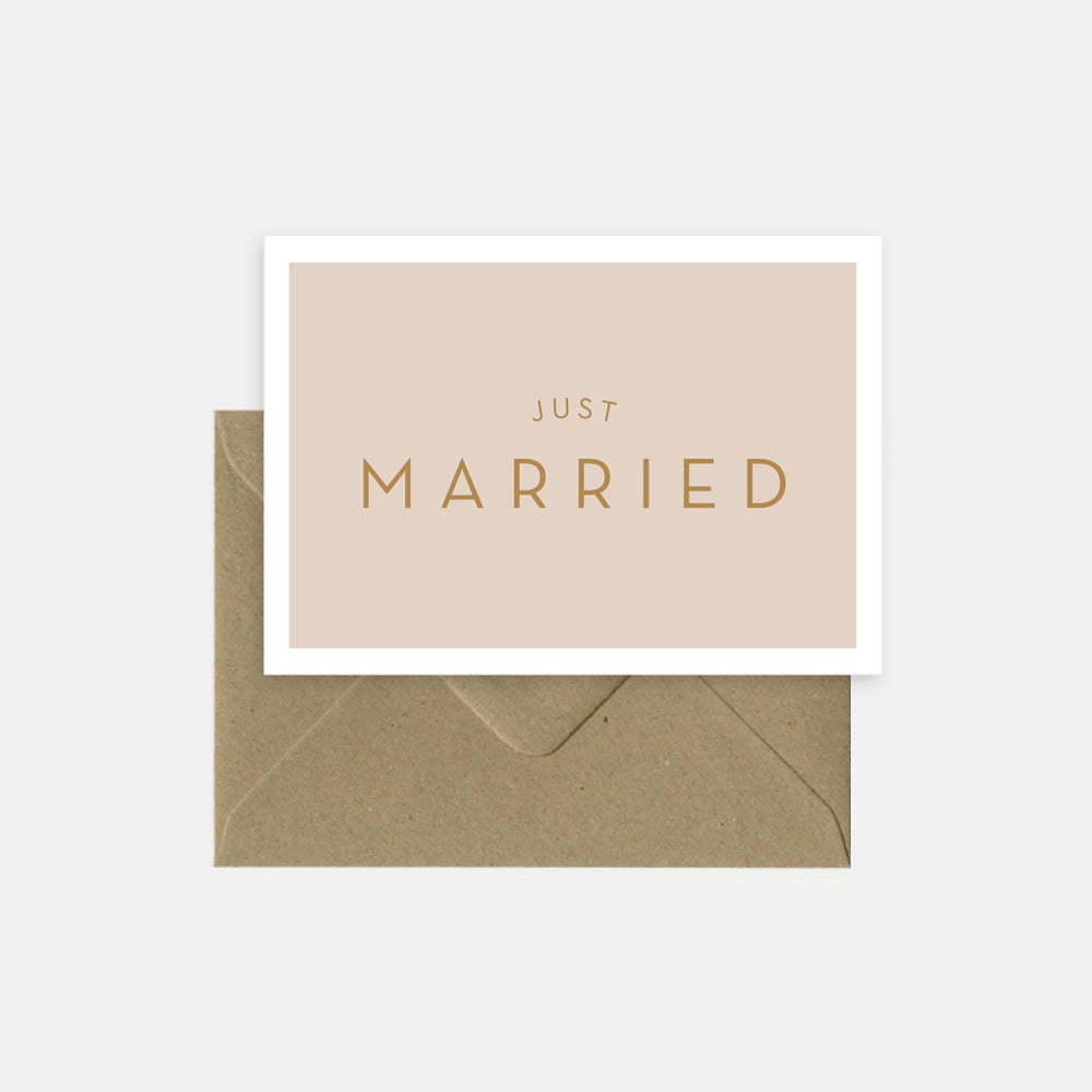 Image of Just married