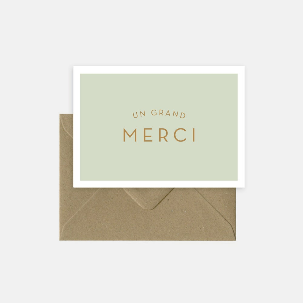 Image of Un grand merci