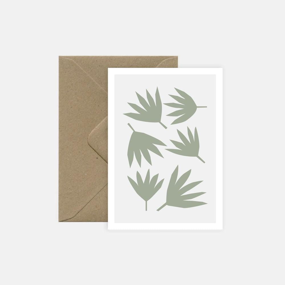 Image of Feuilles de palmiers