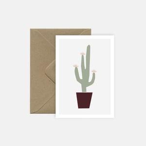 Image of Cactus en fleur