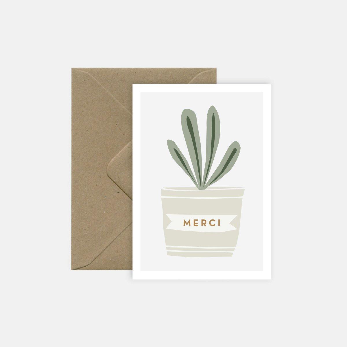 Image of Merci pour la plante
