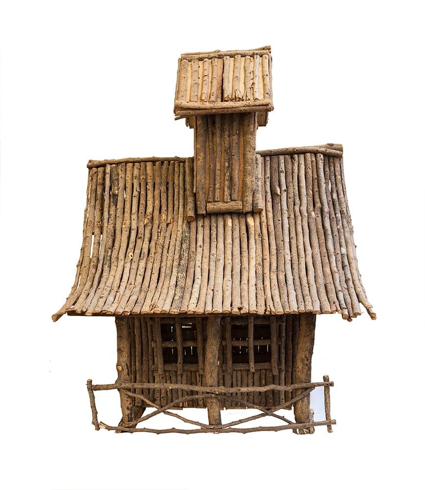 Image of Casa de madera / Francia / s. XIX