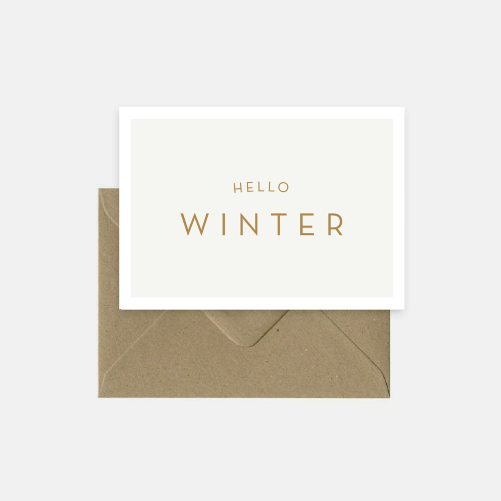 Image of hello winter