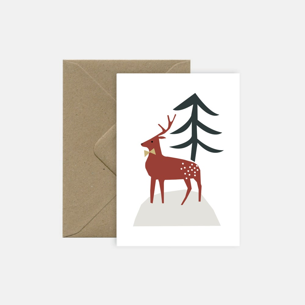 Image of Christmas deer