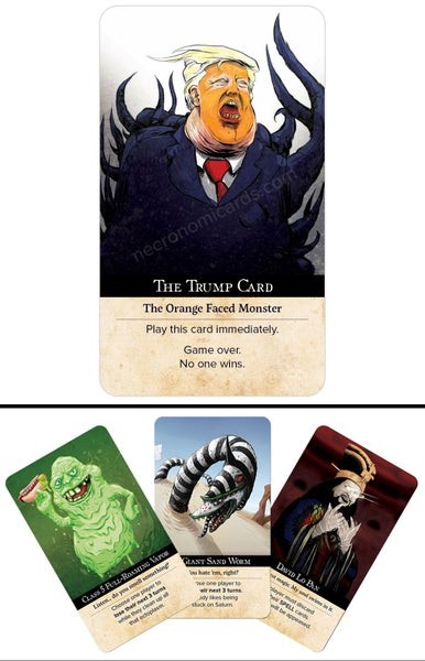 Image of The Trump Card + Kickstarter bonus cards