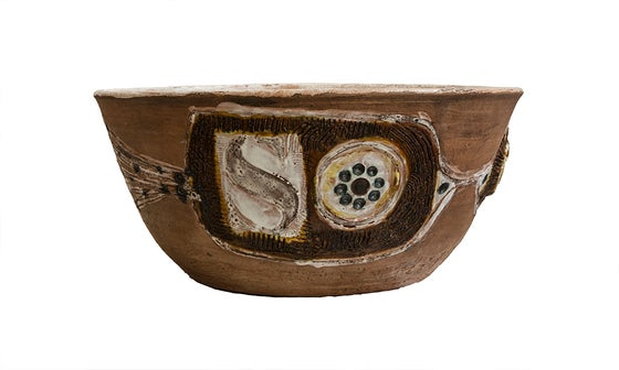 Image of Fuente cerámica Solaire / Francia / Años 60