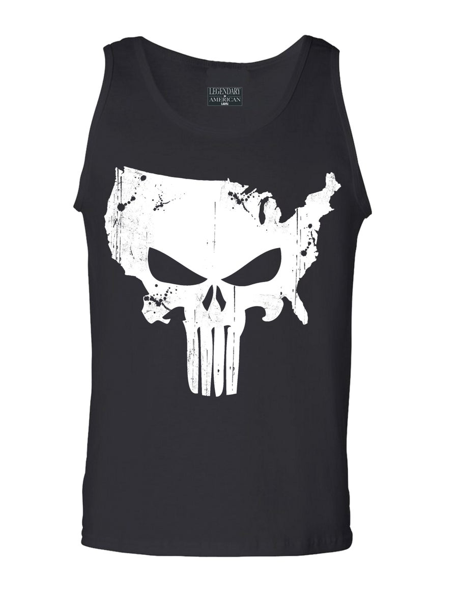 Image of Legendary American American Punisher Tank Black