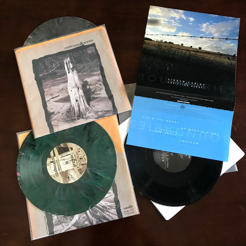 Image of 10-inch Records;  splits feat. Eyeswan or Christina Alessi