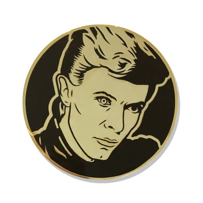 "Image of ""Heroes"" Enamel Pin"
