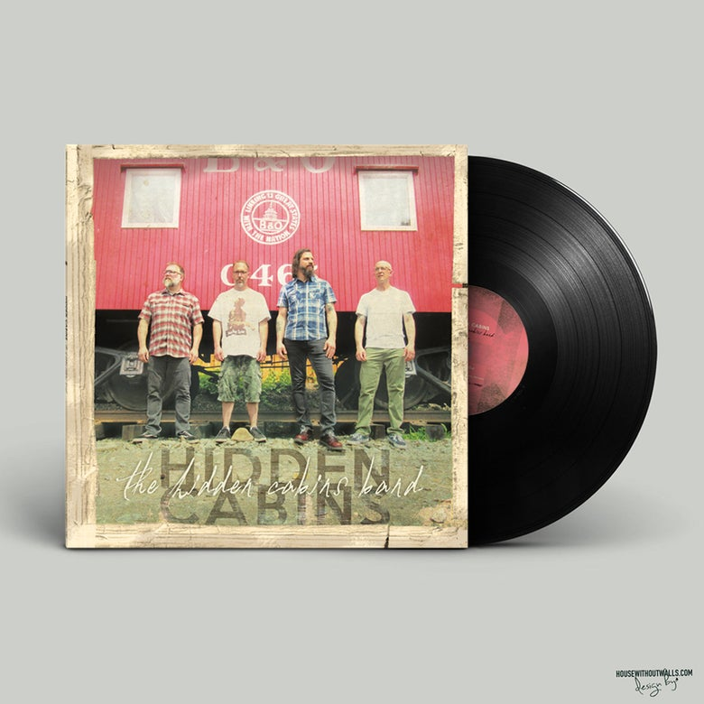 "Image of *LIMITED TIME PRE-ORDER PKG* SPECIAL EDITION The Hidden Cabins Band 12"" Vinyl EP"