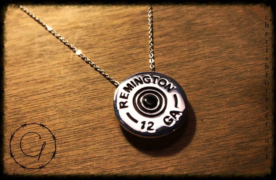 Image of Remington 12 Gauge Necklace