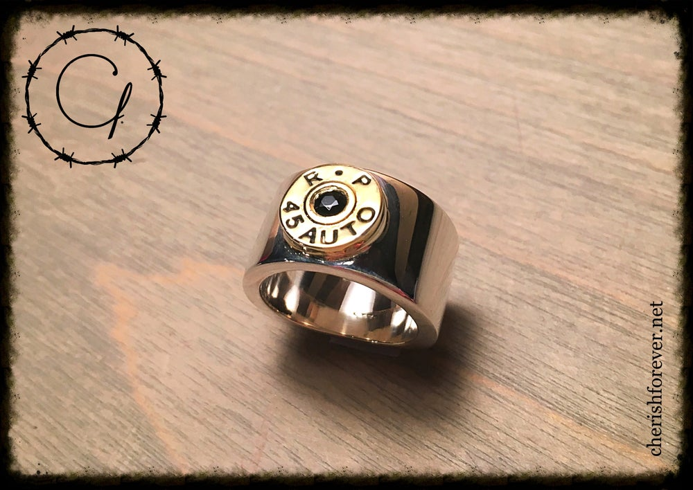Image of Remington 45 Caliber Unisex Ring