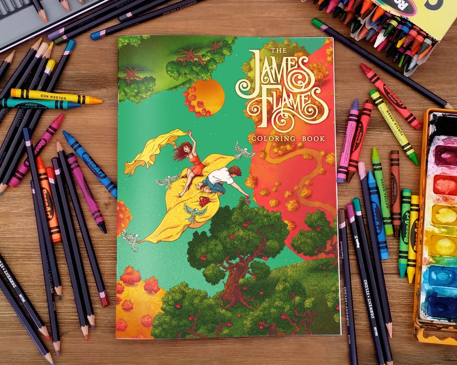 Image of The James Flames Coloring Book
