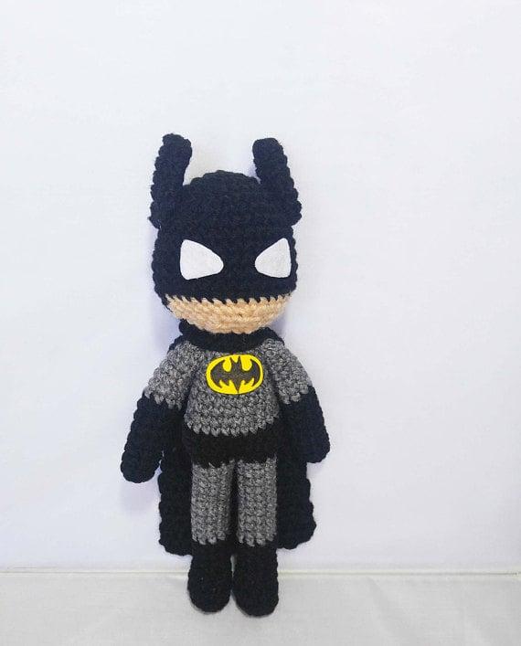 Batman Crochet Amigurumi Pattern - Crochet News   707x570