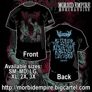 "Image of VULVECTOMY ""Eugenic Sterilization"" T-shirt"
