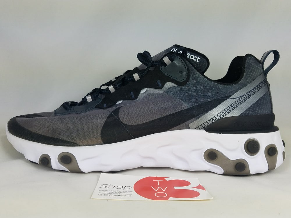 """Image of  Nike React Element 87 """"ANTHRACITE"""""""