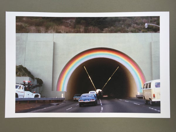 Image of Rainbow Tunnel Poster