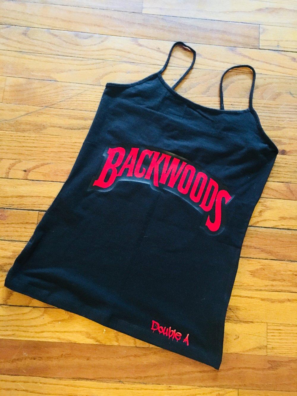 Image of BlKWood-Red/Black