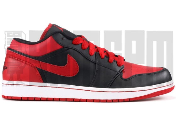 "Image of Nike AIR JORDAN 1 PHAT LOW ""BRED"""