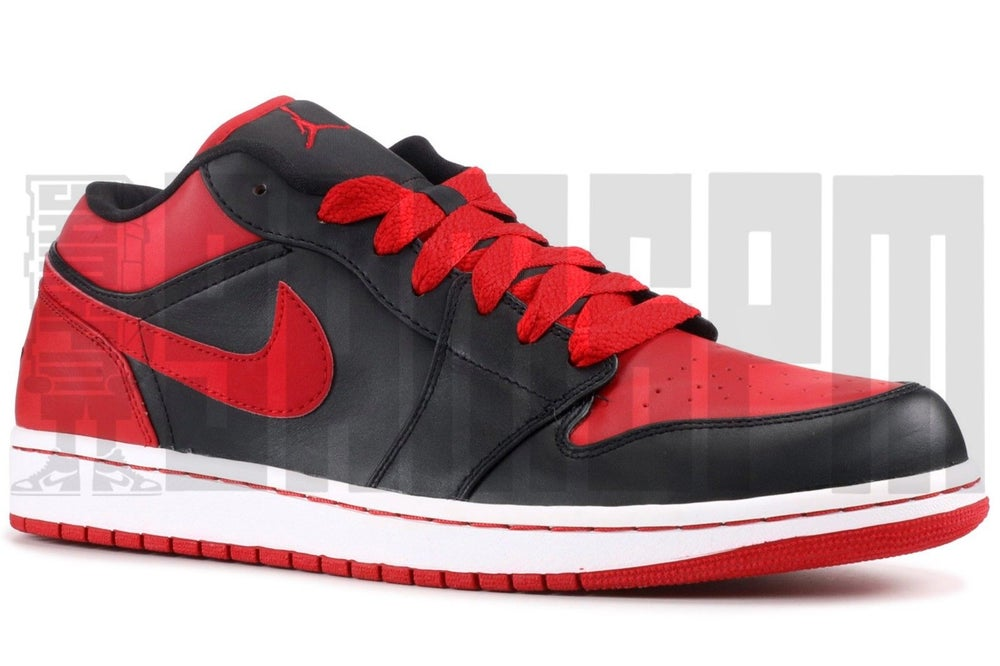 """Image of Nike AIR JORDAN 1 PHAT LOW """"BRED"""""""
