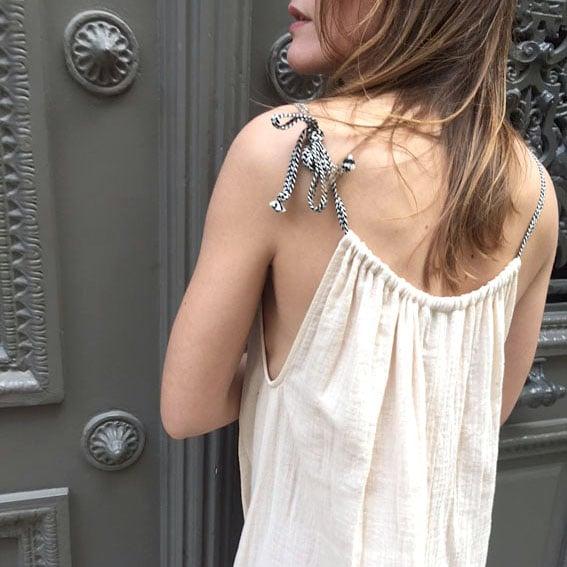 Robe Lucie écrue  - Maison Brunet Paris
