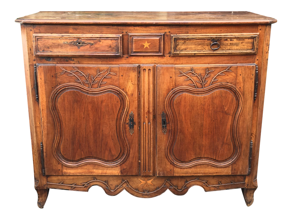 Image of Superb Antique 18th Century French Country Buffet or Commode