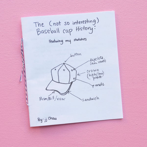 Image of The (Not So Interesting) Baseball Cap History Zine
