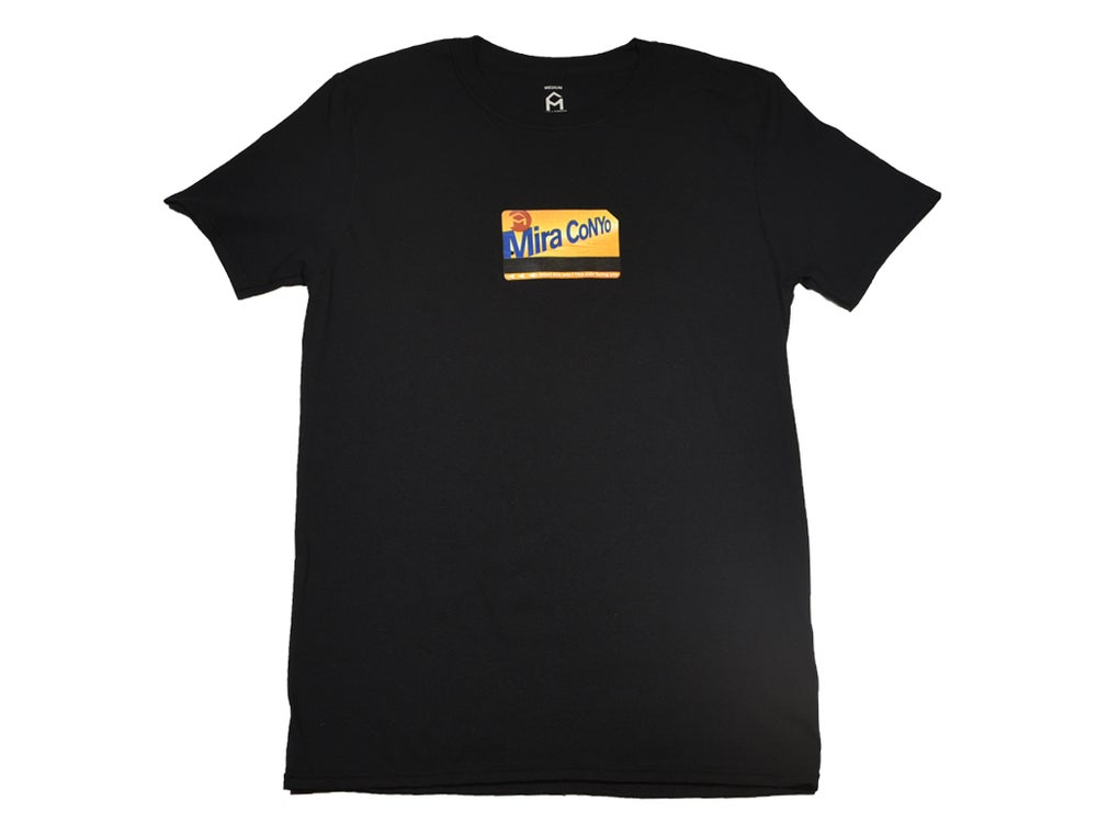 "Image of Black ""Metro Card"" Tee"